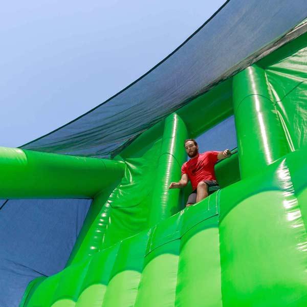 Inflatable Challenge December at Carmarthen Showground